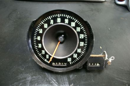 1964 Corvette Speedometer C2  Sting  Ray